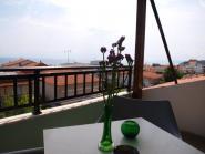 Loft studio, terrace view 1