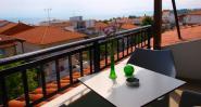 Loft studio, terrace view 2